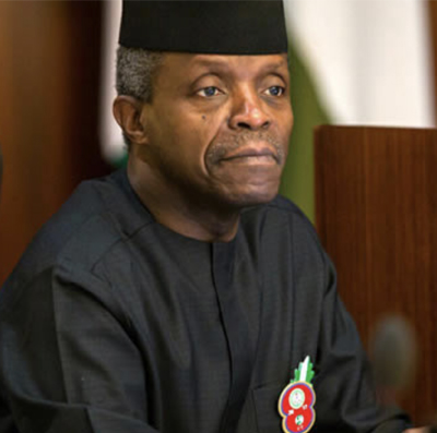 Merit, not federal character, should determine govt appointments – Osinbajo